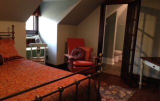 Bedroom at A Memory Grows retreat location