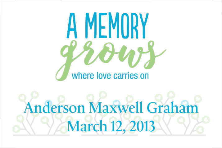A Memory Grows 5K Race Legacy Sign