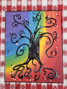 Heart Root Painting